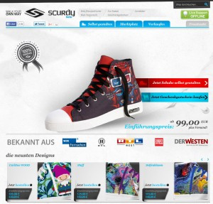 Scurdy: individuelle High Tops
